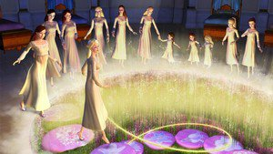 Barbie in The 12 Dancing Princesses - scene 6