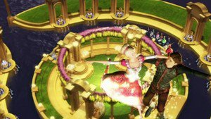 Barbie in The 12 Dancing Princesses - scene 9